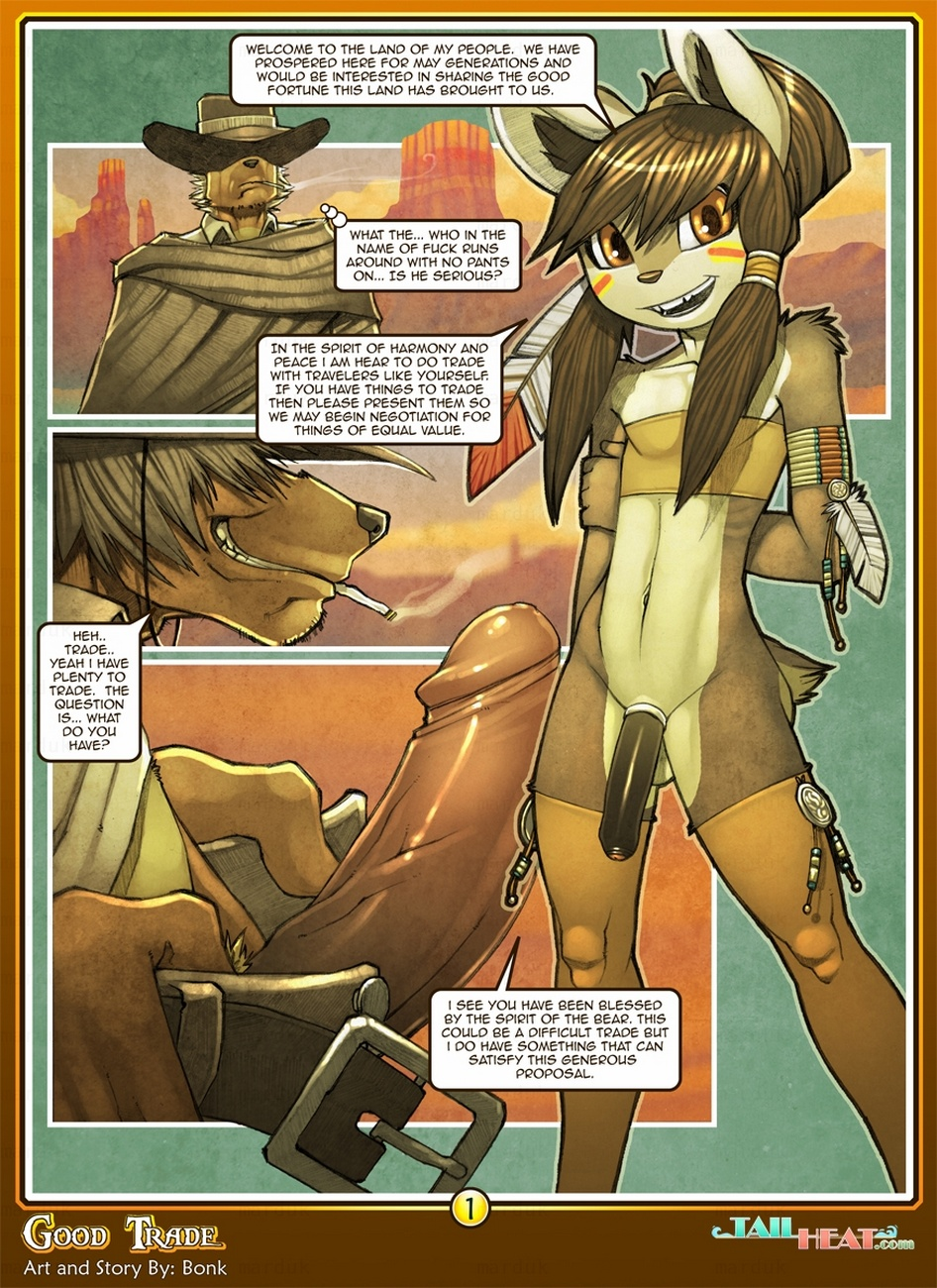 Good Trade gay furry comic