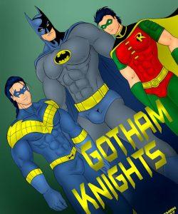 Gotham Knights gay furry comic