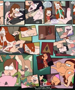 Gravity Falls - Truth Or Dare 007 and Gay furries comics