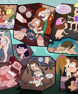 Gravity Falls - Truth Or Dare 010 and Gay furries comics