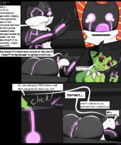 Green & Purple 005 and Gay furries comics