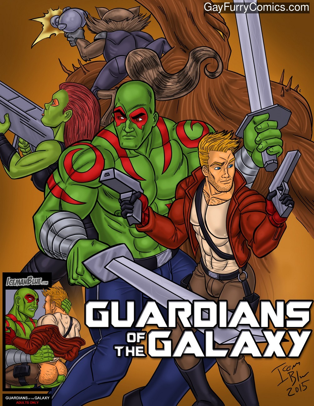 Guardians Of The Galaxy gay furry comic
