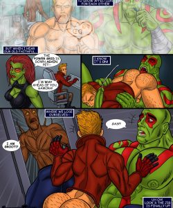 Guardians Of The Galaxy 006 and Gay furries comics