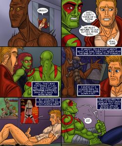Guardians Of The Galaxy 007 and Gay furries comics
