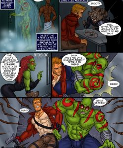 Guardians Of The Galaxy 008 and Gay furries comics
