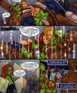 Guardians Of The Galaxy 011 and Gay furries comics