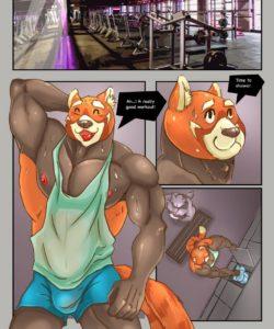 Hard Gym 1 002 and Gay furries comics