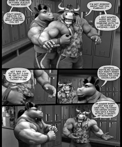 Hardworkers 004 and Gay furries comics