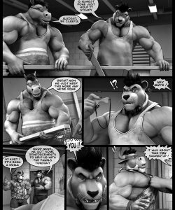 Hardworkers 007 and Gay furries comics