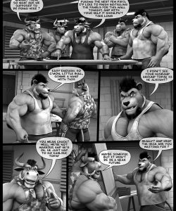 Hardworkers 009 and Gay furries comics