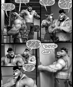 Hardworkers 010 and Gay furries comics
