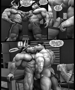 Hardworkers 017 and Gay furries comics