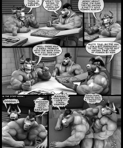 Hardworkers 027 and Gay furries comics
