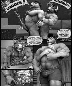 Hardworkers 030 and Gay furries comics