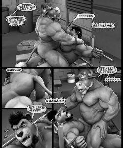 Hardworkers 037 and Gay furries comics