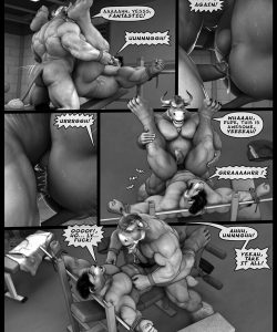 Hardworkers 040 and Gay furries comics