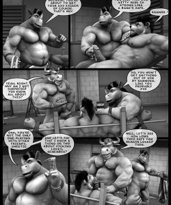 Hardworkers 045 and Gay furries comics