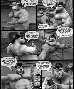 Hardworkers 051 and Gay furries comics