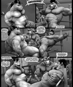 Hardworkers 055 and Gay furries comics