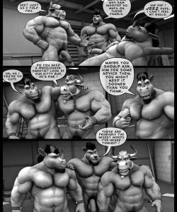 Hardworkers 064 and Gay furries comics