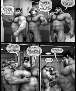 Hardworkers 065 and Gay furries comics