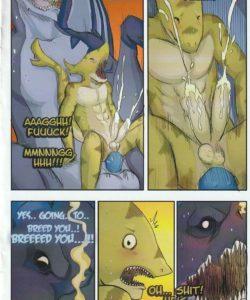 He Knew - Austin's 'Fishy' Encounter 008 and Gay furries comics