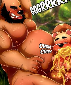 Honey Bear 007 and Gay furries comics