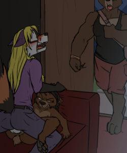 Honeypot 008 and Gay furries comics