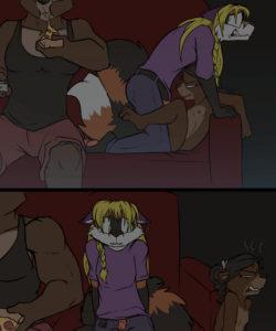 Honeypot 009 and Gay furries comics