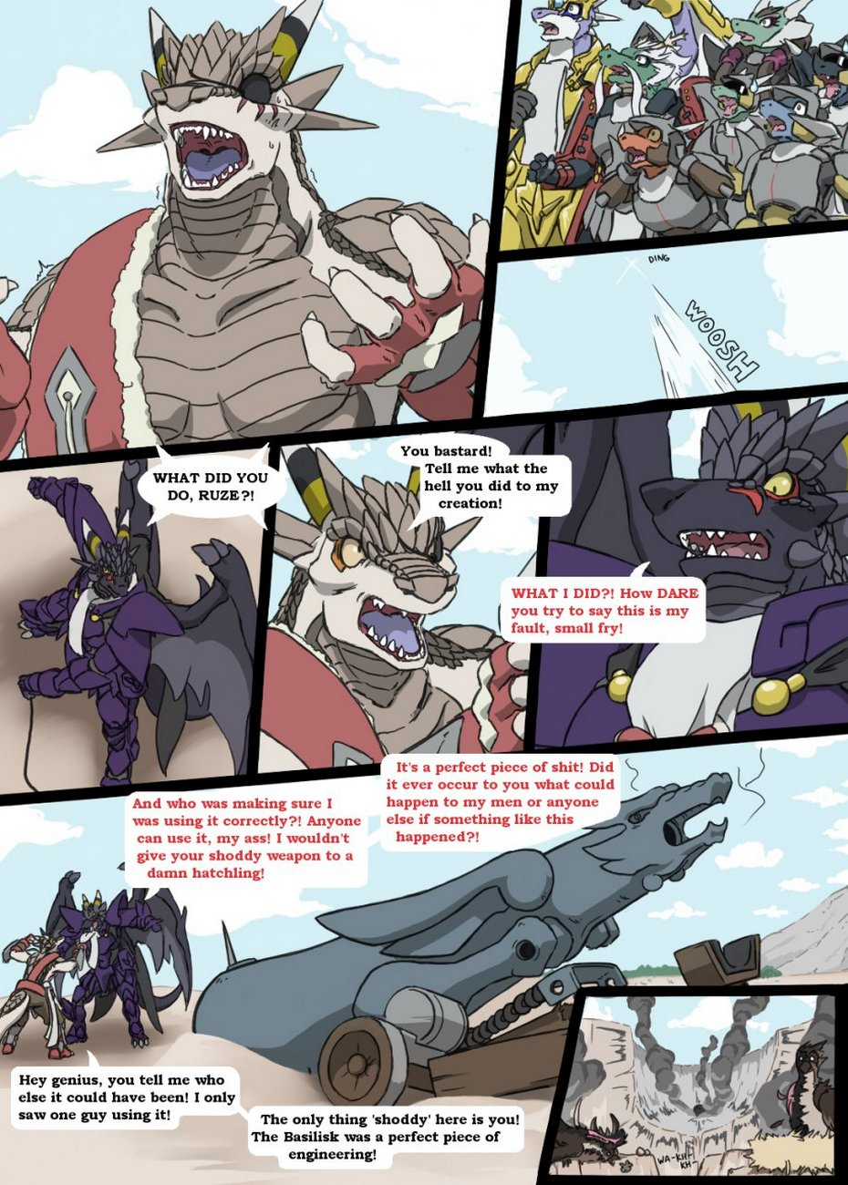Honor And Pride gay furry comic