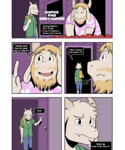 Hopes And Dreemurrs 002 and Gay furries comics