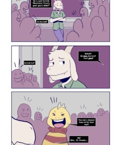 Hopes And Dreemurrs 003 and Gay furries comics