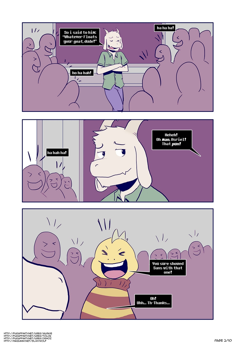 Hopes And Dreemurrs gay furry comic