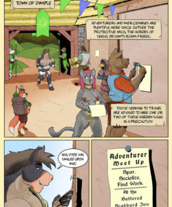 Horn Of Heroes 1 008 and Gay furries comics