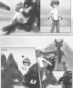 How To Satisfy Your Dragon gay furry comic