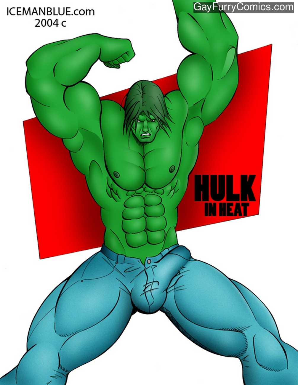 Hulk In Heat gay furry comic