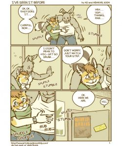 I've Seen It Before 002 and Gay furries comics