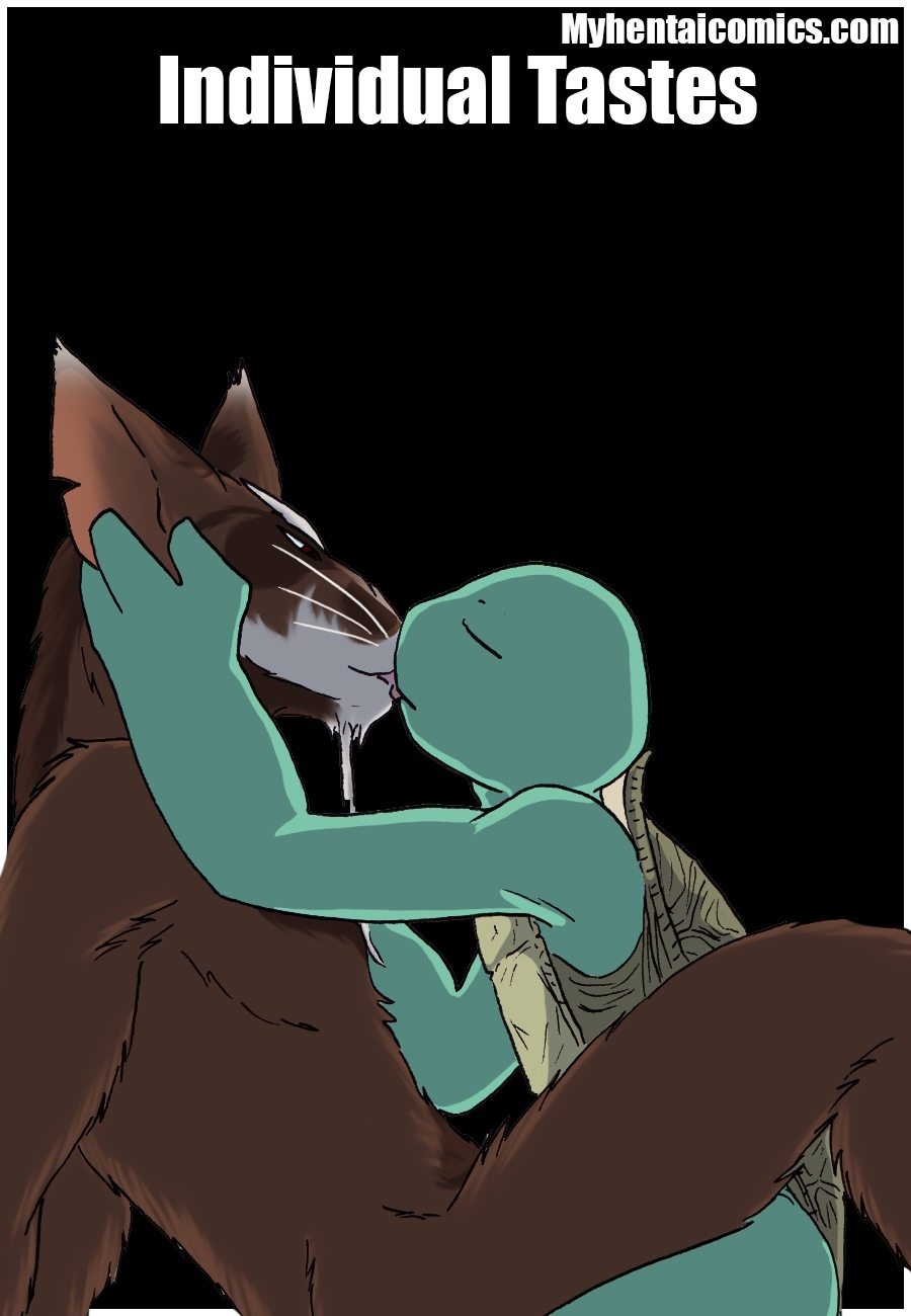 Individual Tastes gay furry comic