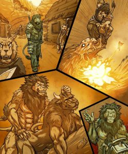 Inu 3 002 and Gay furries comics