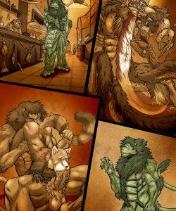 Inu 3 003 and Gay furries comics