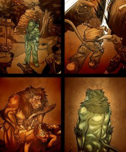Inu 3 004 and Gay furries comics