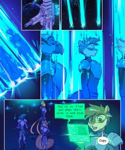 Invasion 002 and Gay furries comics