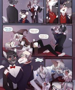 It's Never Too Late To Trick Or Treat 009 and Gay furries comics