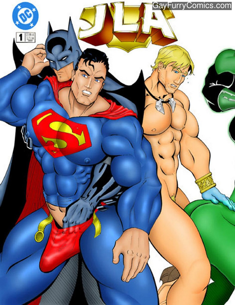 JLA gay furry comic