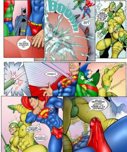 JLA 007 and Gay furries comics