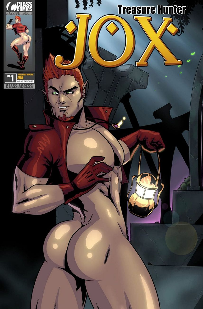 JOX – Treasure Hunter 1 gay furry comic