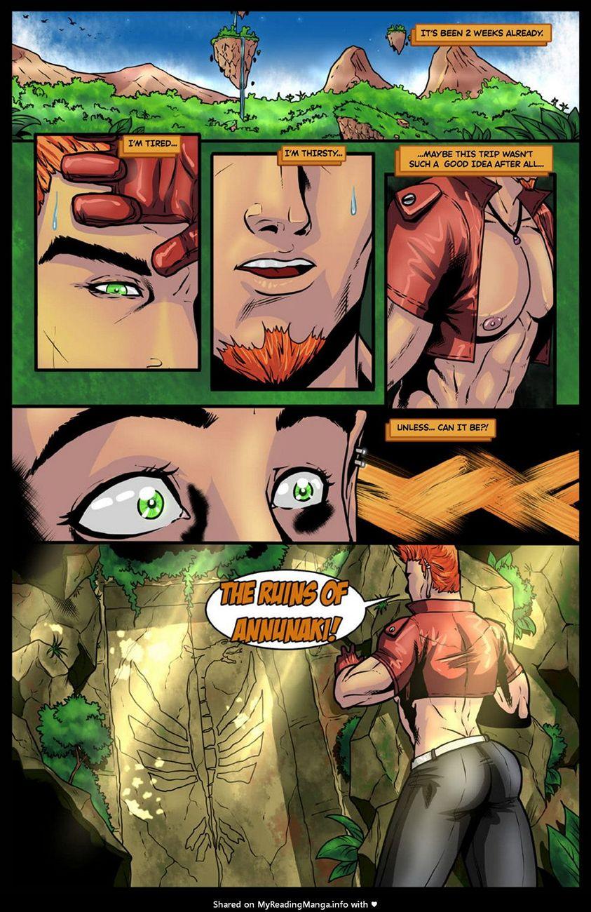 JOX – Treasure Hunter 1 gay furry comic