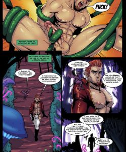 JOX – Treasure Hunter 2 gay furry comic