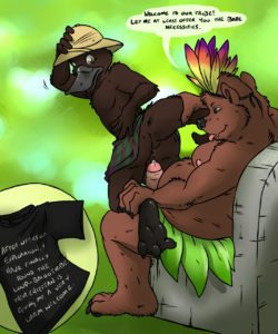 Jungle Fever Book 002 and Gay furries comics