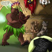 Jungle Fever Book gay furry comic